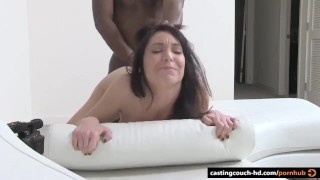 Mature reserved Brunette fucks on video – first time